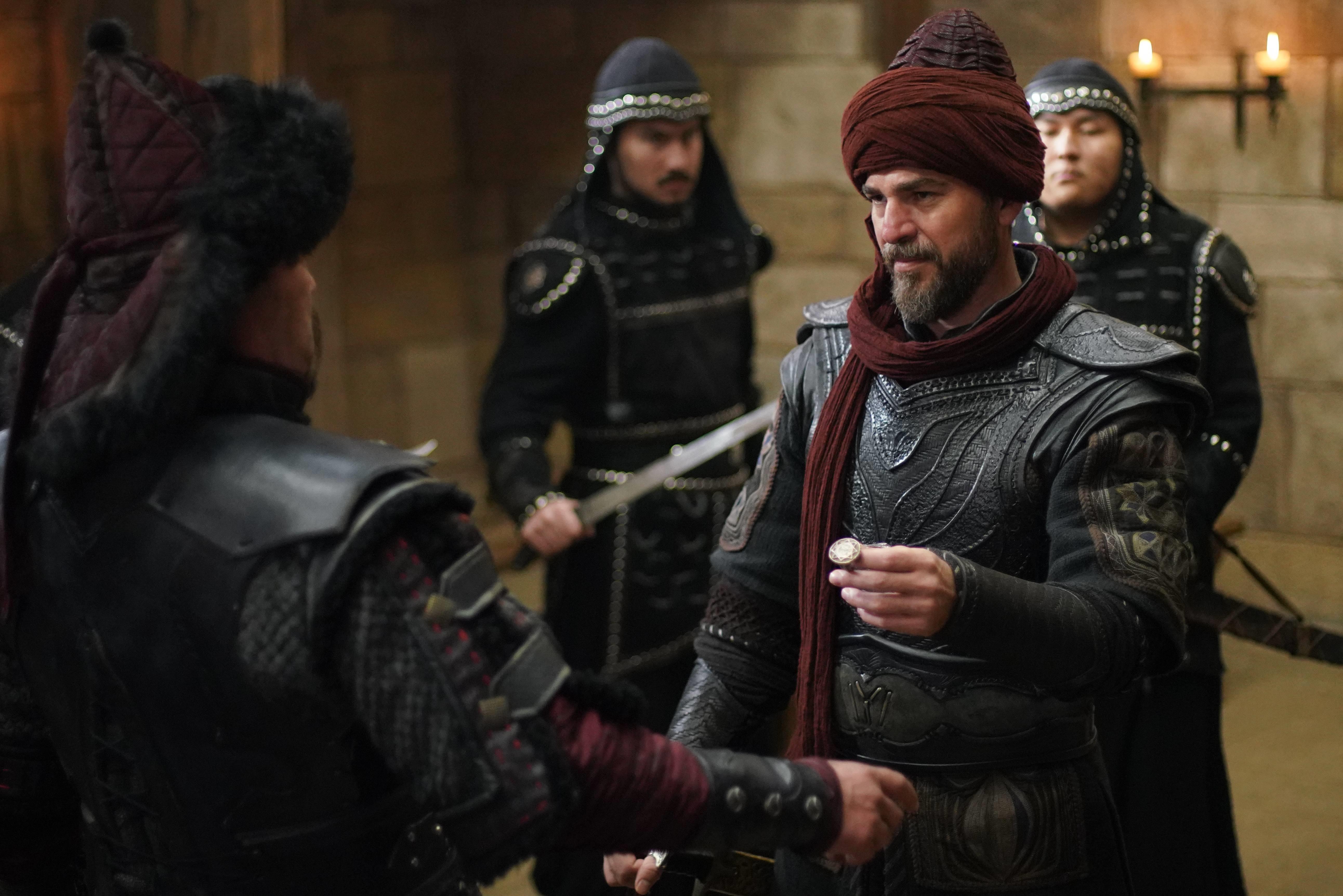 صور رسمية من الحلقة القادمة 138 من الموسم الخامس من قيامة أرطغرل بجودة عالية جداً